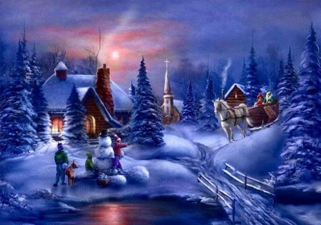 zimowy_krajobraz_lepienie_balwana_boze_narodzenie_swieta_swiateczne