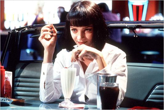 """Shake waniliowy z """"Pulp Fiction"""""""