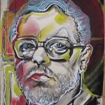 Portret wykonał Z. Kresowaty