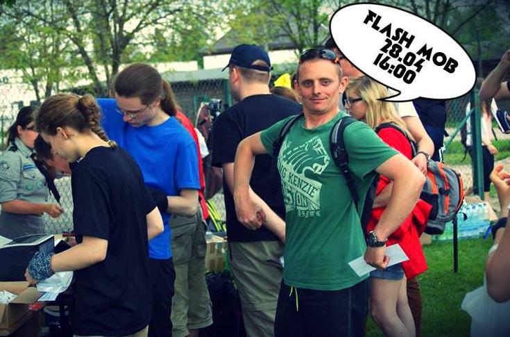 3, 2, 1 Flash Mob z HAKiem