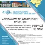 Plakat Eduko - wolontariat