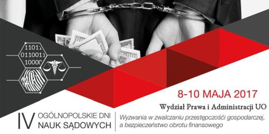 IV Ogólnopolskie Dni Nauk Sądowych