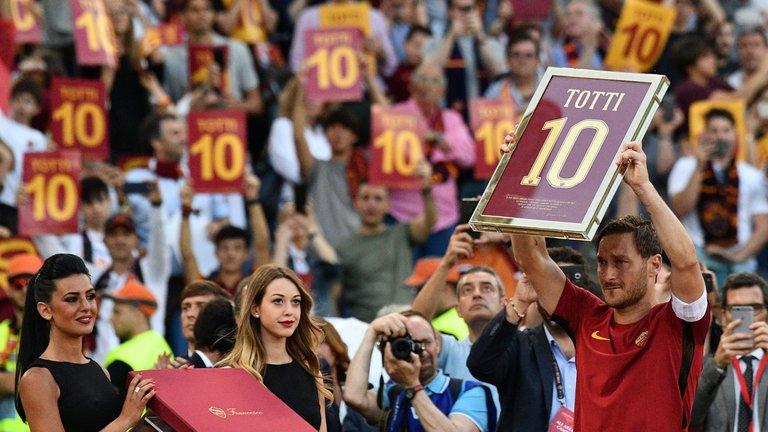 Lojalny jak Totti i brutalny jak życie