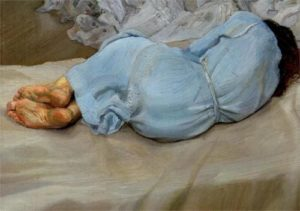 Lucian Freud, Annabel Sleeping, 1987-1988