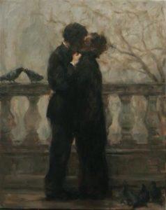 Antonio Ambrogio Alciati, The kiss, 1900