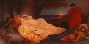 Frederic Lord Leighton, Cymon and Iphigenia, 1884