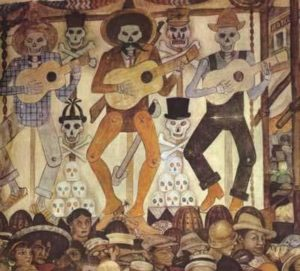Diego de Rivera, Ay of the dead, 1944