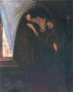 Edvard Munch, Kiss, 1897