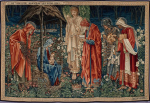 Edward Burne-Jones, The Adoration of the Magi, 1890