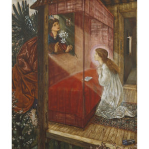 Edward Burne-Jones, The annunciation the flower of God, 1862