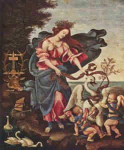 Filippino Lippi, Alegori Muzyki, ok.1475-1500
