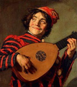 Frans Hals, De luitspeler, 1623-24