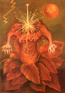 Frida Kahlo, Flower of life flame flower, 1943