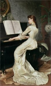 George Hamilton Barrable, A Song Without Words, 1880