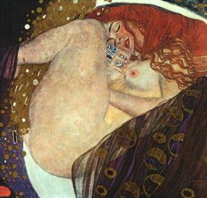 Gustav Klimt, Danae, 1907-1908