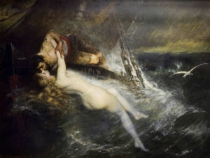 Gustav Wertheimer, The Kiss of the Siren, 1882
