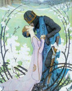 Heinrich Lefler, Snow White, 1905