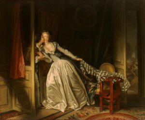 Jean-Honore Fragonard, The stolen kiss, 1788