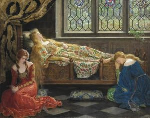 John Collier, The Sleeping Beauty, 1921