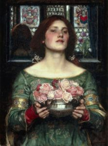 John William Waterhouse,  Gather Ye Rosebuds, 1908