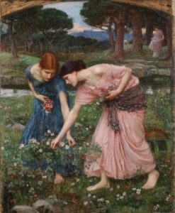 John William Waterhouse, Gather ye rosebuds while ye may, 1909