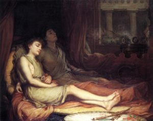 John William Waterhouse, Sleep and his Half-brother Death, 1874