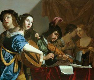 Jan van Bijlert, Musical Company, 1625