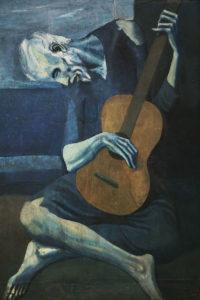 Pablo Picasso, Stary gitarzysta, 1903