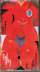 Paul Klee, Flower myth, 1918