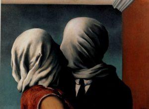 René Magritte, Lovers (I), 1928