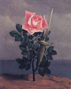 René Magrittethe, Le coup au coeur, 1956
