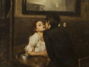 Ron Hicks - Café Kiss Pretty Girls & Bourbon, XXI c.