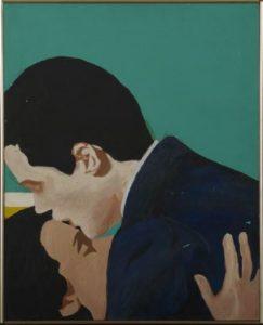 Rosalyn Drexler, Love in the green room, 1964