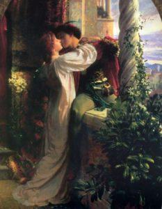 Sir Frank Bernard Dicksee, Romeo & Juliet, 1884