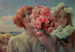 Sir Lawrence Alma-Tadema, Summer offering. 1911