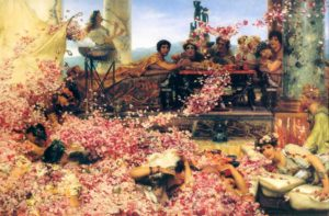 Sir Lawrence Alma-Tedema, The roses of Heliogabalus, 1888