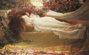John William Waterhouse, Sleeping Beauty, XIX c.