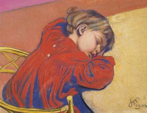 Stanisław Wyspiański, Śpiący Staś, 1904