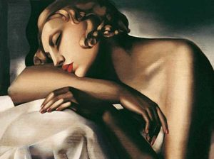Tamara Łempicka, The Sleeper, 1932