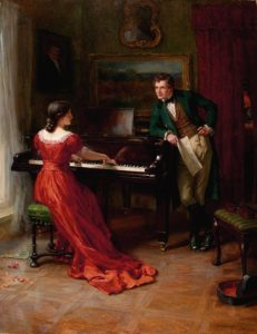George Sheridan Knowles, The Duet, 1915