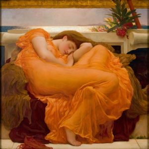 Frederic Lord Leighton,Flaming June, 1895