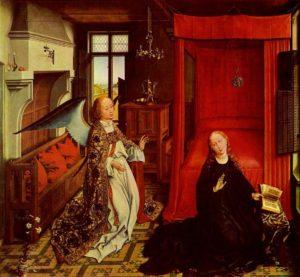 Rogier van der Weyden, Zwiastowanie,1435