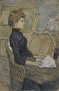 Henri de Toulouse-Lautrec, Etude Helene Vary, 1888