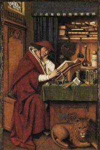 Jan van Eyck, Święty Hieronim w pracowni, 1442