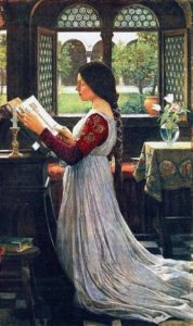 John William Waterhouse The Missal, 1902