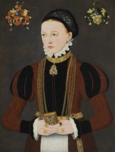 Ludger Tom Ring the Younger, Portrait of a young patrician lady c. 1565