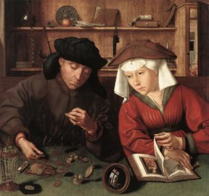 Quentin Massys, The Moneylender and His Wife, 1514