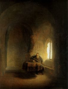 Rembrandt, Filozof, 1631