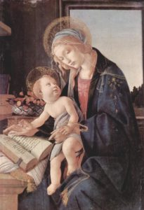 Sandro Botticelli, Madonna of the book, 1479