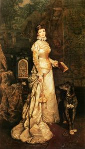 Tadeusz Ajdukiewicz, Portret Heleny Modrzejewskiej, 1880